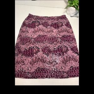 Sexy Colorful Skirt purple